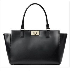 Kate Spade Kelsey orchid valley Smooth in Black